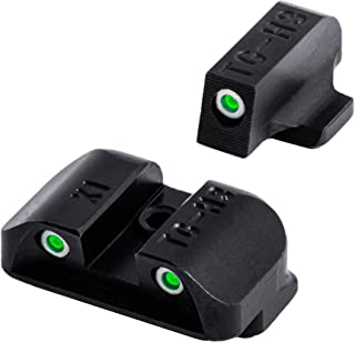 TRUGLO Tritium Handgun Glow-in-The-Dark Night Sights for Springfield Pistols, Springfield XD, XDM (excluding 5.25