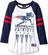 Ultra Game NFL Women's Running Game 3/4 Long Sleeve Tee Shirt