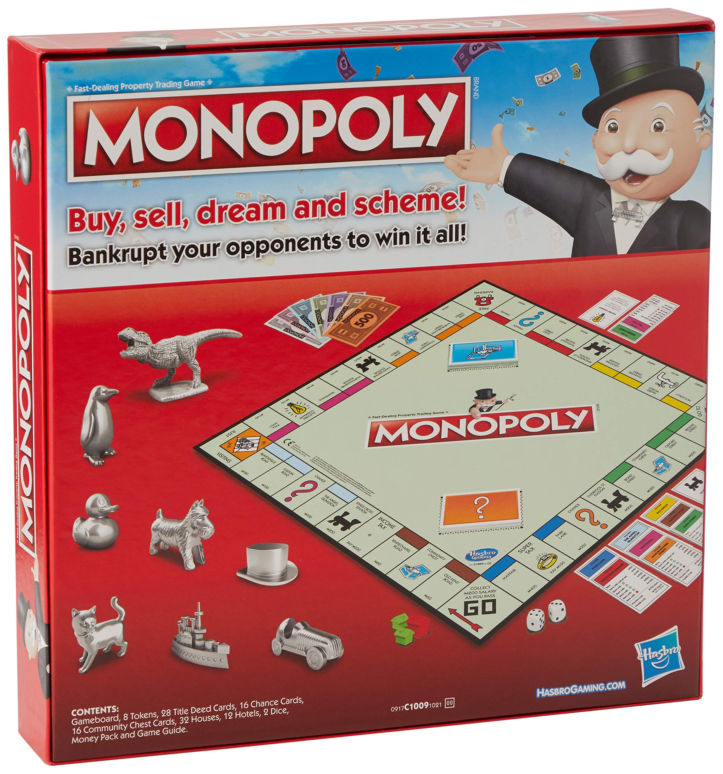 Hasbro Gaming Monopoly Classic Game (UK IMPORT): Amazon.es: Juguetes y juegos