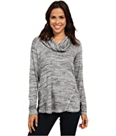 Allen Allen - Long Sleeve Seamed Top