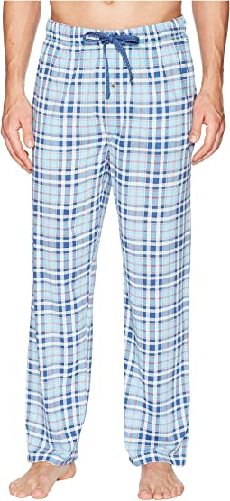 Printed Knit Pajama Pants