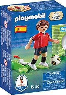 PLAYMOBIL® Soccer Player Spain Buildable Figure