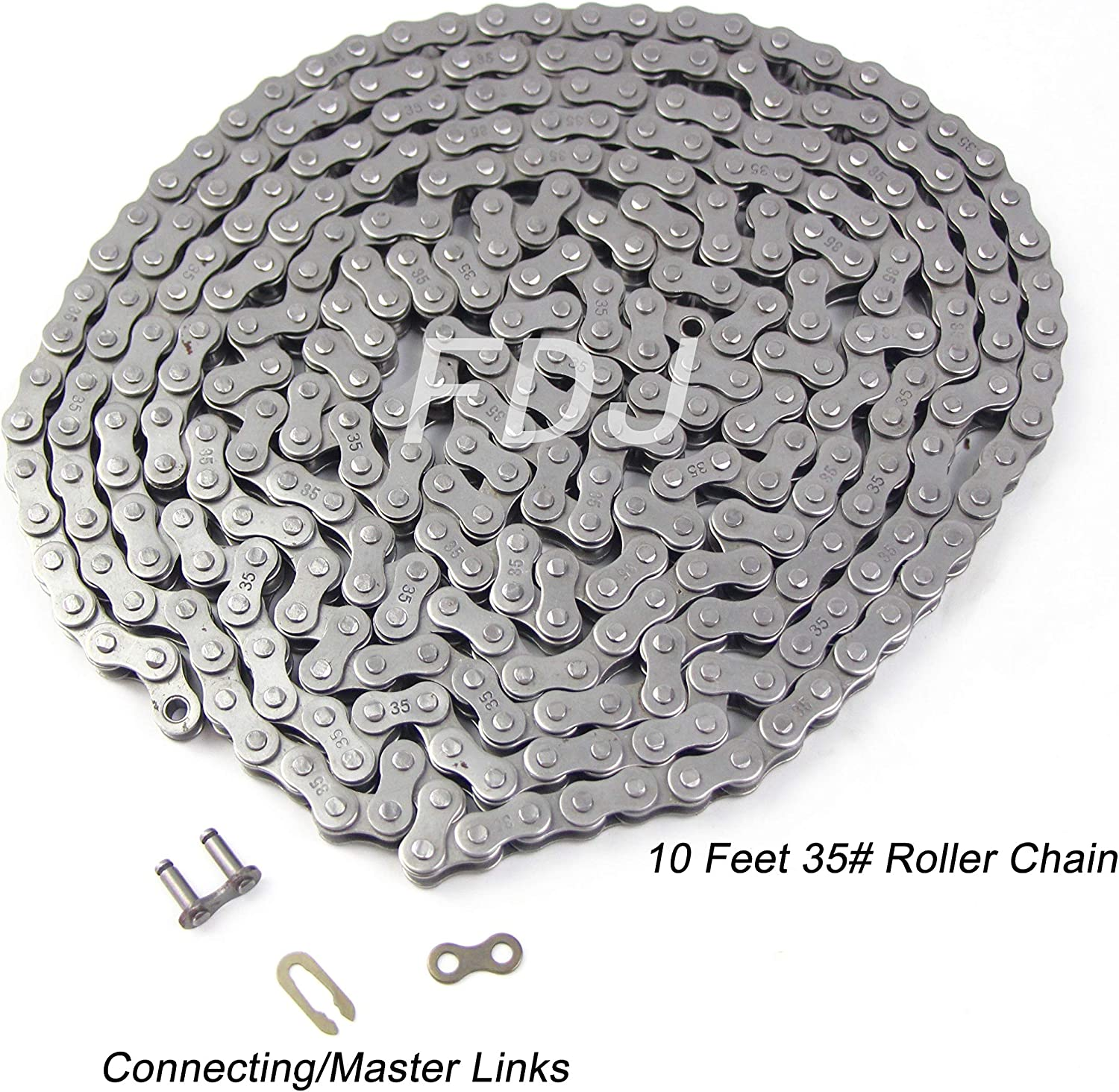 """5 416 Go Cart MiniBike Roller Chain Offset Link 1//2/"""" x 1//8/"""" COL-43 410"""