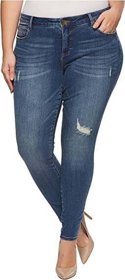 Plus Size Toothpick Skinny in Zest