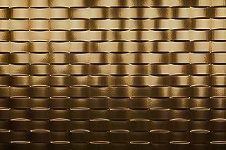 Weave Backsplash Tiles Decorative Wall Paneling, Oil Rubbed Bronze, 18