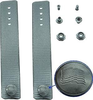 QuickClip Pro IWB Soft Loop Kit DIY Kydex Holster or Knife Sheaths 3/4