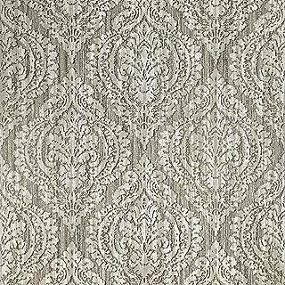 Slavyanski Vinyl Wallpaper White Beige Gray Grey Green Gold Metallic Glitters Rust Rustic coverings Textured Old Vintage Retro Diamond Pattern Double Rolls wallcovering Wall Paper Textures 3D Modern