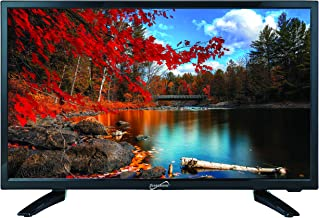 "SuperSonic SC-2411 LED Widescreen HDTV & Monitor 24"" Flat Screen with USB Compatibility, SD Card Reader, HDMI & AC/DC Input: Built-in Digital Noise Reduction"