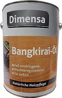 2 x 0,75 ml Dimensa Bangkirai-ÖL außen Seidenglänzend 1,5 L