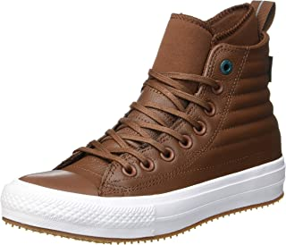 Unisex Adults' Chuck Taylor CTAS Wp Boot Hi Low-Top Sneakers, Dark Clove Dark Atomic Teal