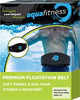 AQUA Fitness Deluxe Flotation Belt for Water Aerobics, Pool Exercise Equipment, Aquatic..