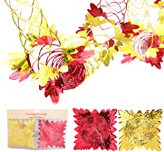 Christmas Concepts® Pack of 2 9ft Garland Festive Hanging Decorations -Red/Gold