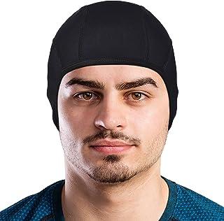 GearTOP Skull Cap Helmet Liner Running Beanie (Black)