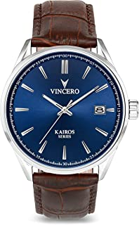 Vincero Luxury Men's Kairos Wrist Watch - 42mm Analog Watch - Japanese Quartz Movement…