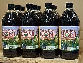 Wailua River Noni Juice 100% Organic Hawaiian 12 quarts