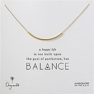 Dogeared Women's Balance Tube Necklace