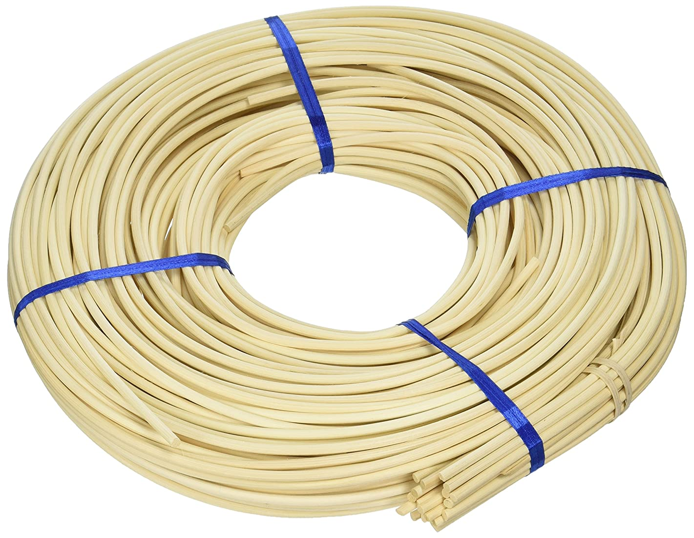 Commonwealth Basket Round Reed #6 4-1/4, 4-1/2mm 1-Pound Coil, Approximately, 160-Feet kdgrzx721484710