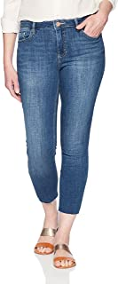Riders by Lee Indigo Women's Modern Collection Skinny Cropped Denim Jean with Cut Hem