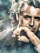 Doppelganger33 Ltd Painting Portrait Movie Film Legend Cary Grant Smoking Canvas Art Print