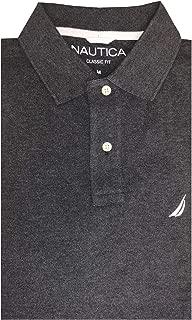Mens Long Sleeve Classic Fit Logo Polo Pique Shirt