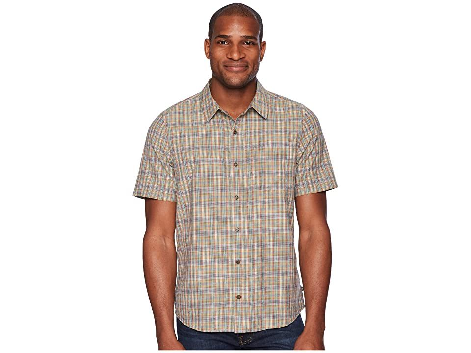 Toad&Co Airscape Short Sleeve Shirt (Azores) Men