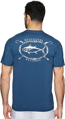 Quiksilver Waterman - Chill Short Sleeve Rashguard