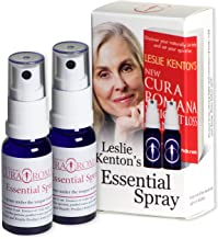Leslie Kenton s Cura Romana Essential Spray for Natural Safe No-Hunger Weight Loss Internal Cleansing and Radiant Health This Product is the Celebrated Companion For Use With Leslie Kenton s New Cura Romana Weightloss Plan Book Estimated Price : £ 60,00