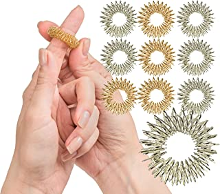 spiky sensory finger rings benefits