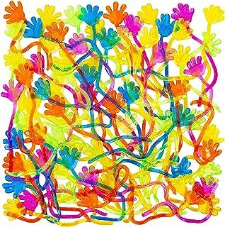 "Vinyl Glitter Sticky Hands 1 1/4"" (72 count)"