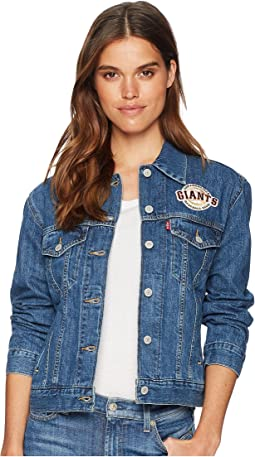 Levi's® Womens San Francisco Giants Patch Trucker Jacket