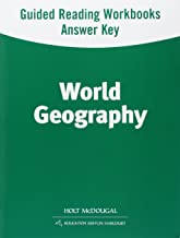 World Geography: Spanish/English Guided Reading Workbook Answer Key Survey (Spanish Edition)