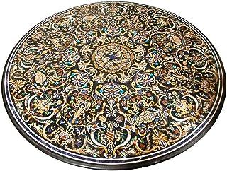 84 pulgadas de mármol negro mesa de comedor piedras semi preciosas mesa de reunión superior con incrustaciones
