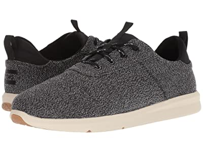 TOMS Cabrillo (Black Terry Cloth) Men