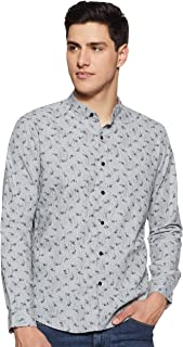 Diverse Men's Printed Regular Fit Casual Shirt