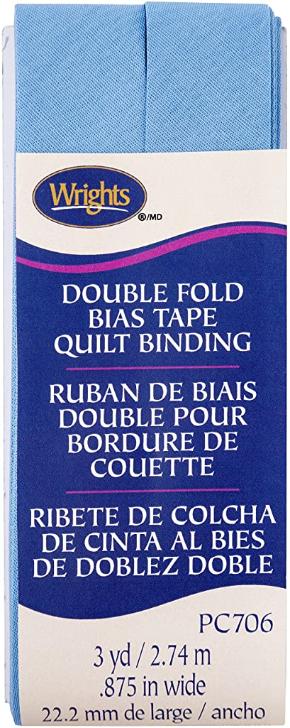 Wrights Delft Double Fold Quilt Binding 7/8