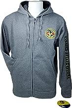 Club America Zipper Front Fleece Jacket Sweatshirt Official License Soccer Hoodie 013