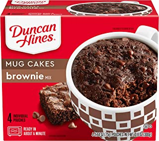Duncan Hines Perfect Size for One, Chocolate Brownie, 10.6 oz
