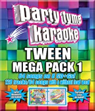 Party Tyme Tween Mega Pack 1 64+64-Song Party Pack