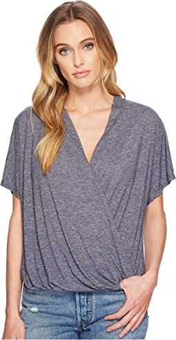 Michael Stars - Brooklyn Jersey Cross Over V-Neck Top
