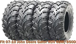 4 WANDA ATV tires 25x10-12 & 25x11-12 for 07-10 John Deere Gator XUV 620I/850D