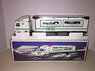 Hess 1997 Toy Truck with 2 Racers