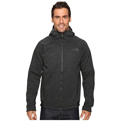 The North Face Trunorth Hoodie (TNF Black Heather/TNF Black (Prior Season)) Men