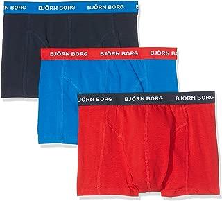 Bjorn Borg Men's 3p Shorts Noos Contrast Solids