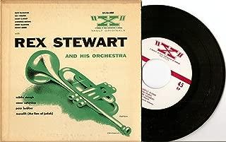 "Vault Originals REX STEWART AND HIS ORCHESTRA (EVAB-3001) 7"" 45 EP RCA"