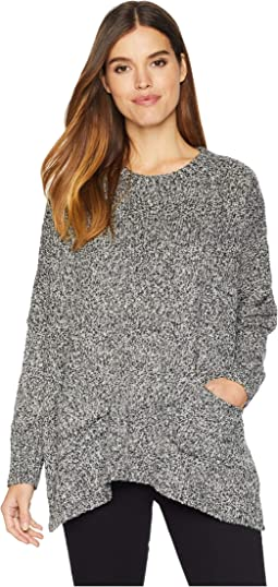 Two-Tone Boucle Sweater KSNK5909