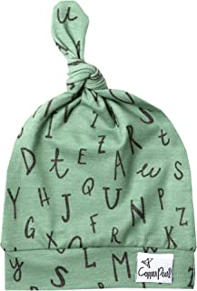 Baby Beanie Hat Top Knot Stretchy Soft for Boy