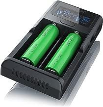 Cargador de Pilas de Litio USB de Aplic - Estación de Carga de Pilas Universal Recharger - Tecnología de Carga Inteligente controlada por microprocesadores
