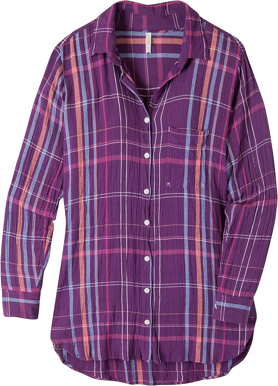 Mountain Khakis Jenny Tunic Shirt Violette SM