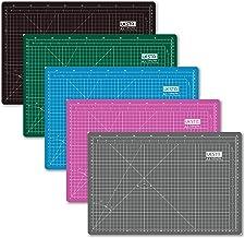 UESTA A3 (18L x 12W Inch) (450 x 300 mm) Self Healing 5 Layers PVC Colorful Cutting Mat (Green)