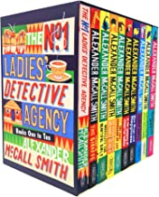No. 1 Ladies' Detective Agency Series 10 Books Collection Set by Alexander McCall Smith (Books 1 - 10)